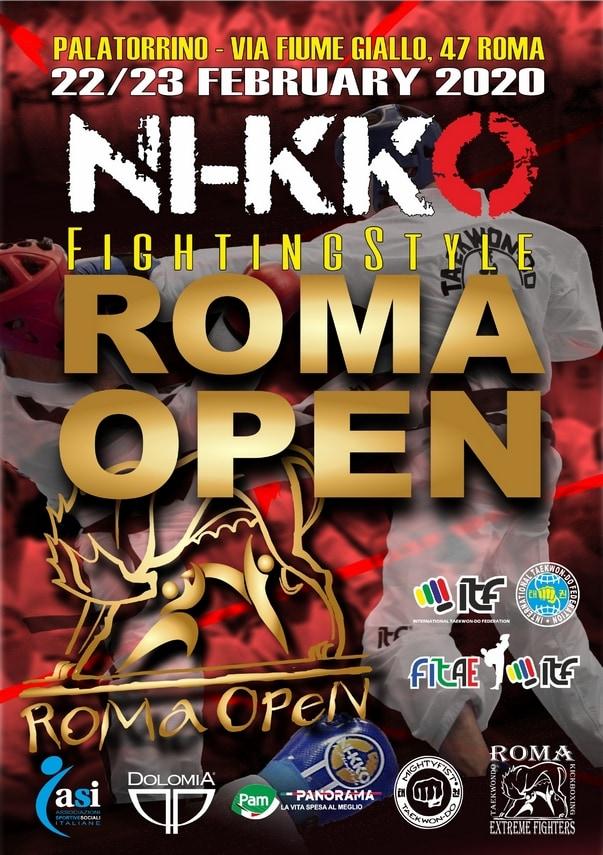 NI-KKO ROMA OPEN TAEKWON-DO ITF Roma, 22-23/02/2020