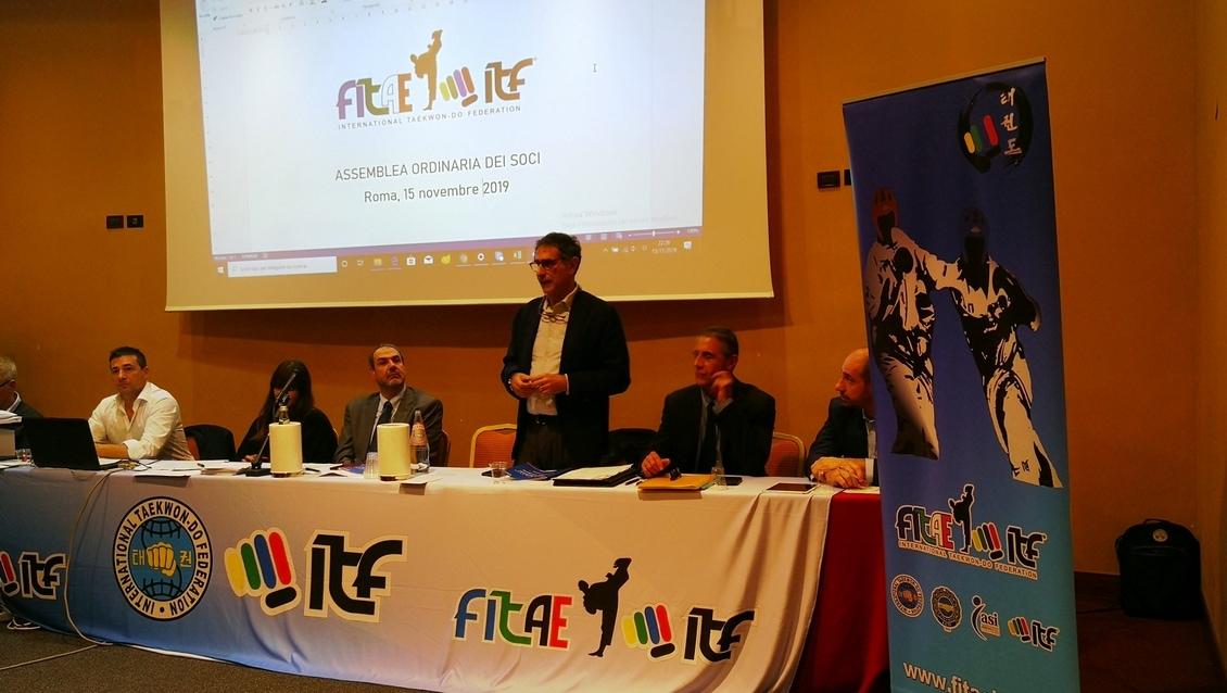 ASSEMBLEA ORDINARIA DEI SOCI ELEZIONI CARICHE DIRETTIVE<BR>ROMA, 16/11/2019