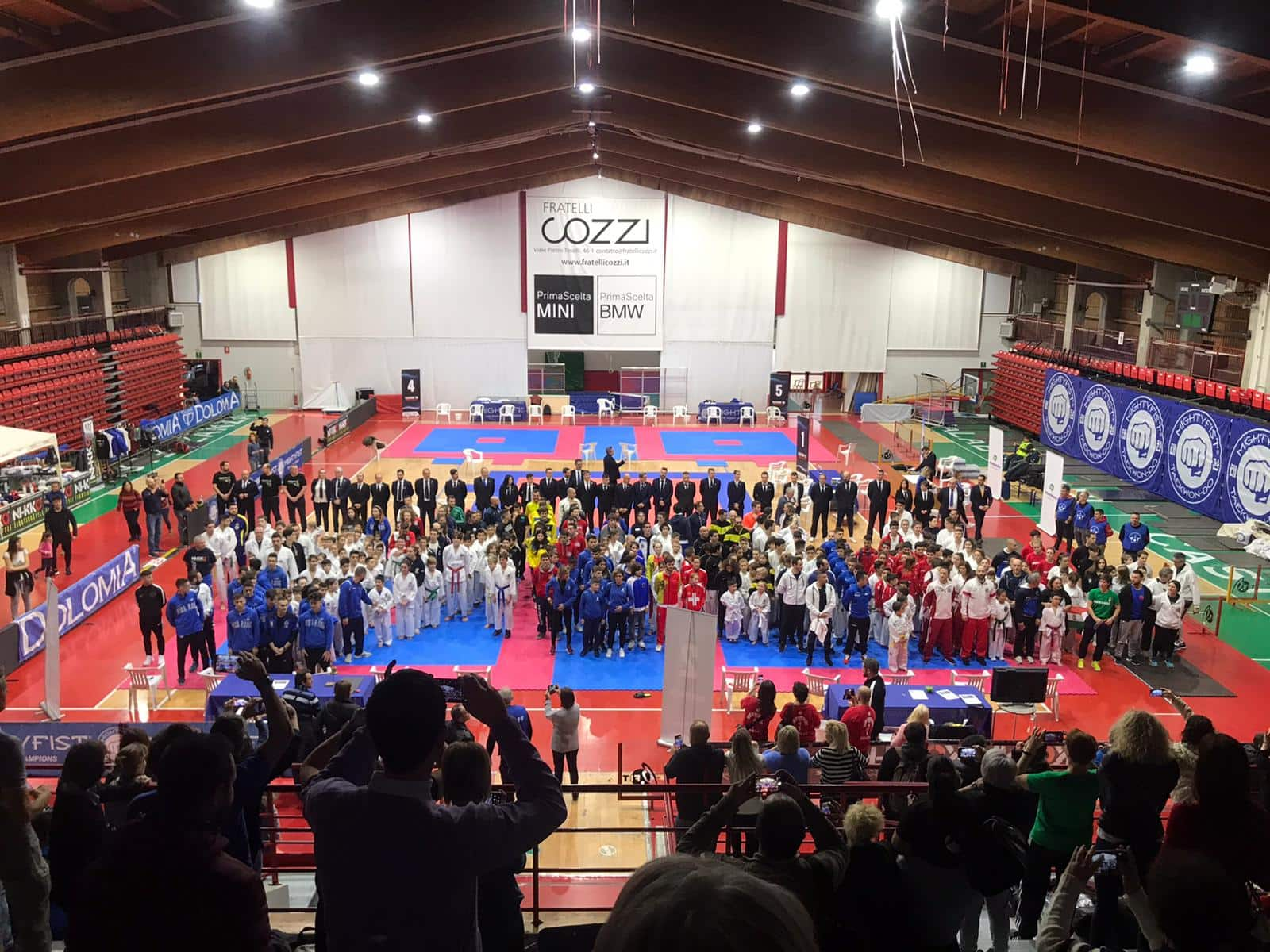 5° MIGHTYFIST ITALIAN OPEN <br>TAEKWON-DO ITF <br>LEGNANO (MI), 30/11/2019