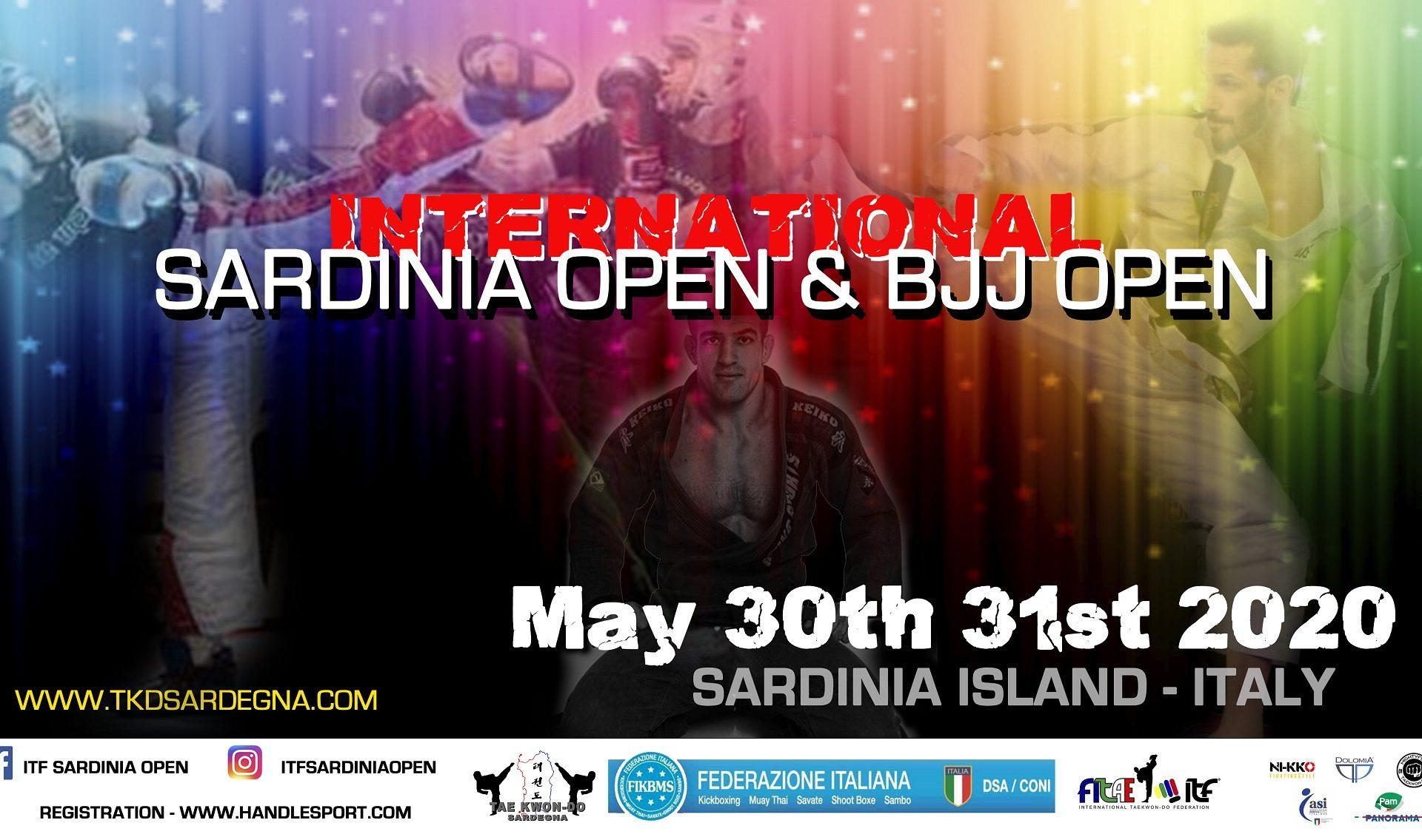 INTERNATIONAL SARDINIA OPEN<BR> CAPOTERRA (CA) <BR> 30-31 MAGGIO 2020