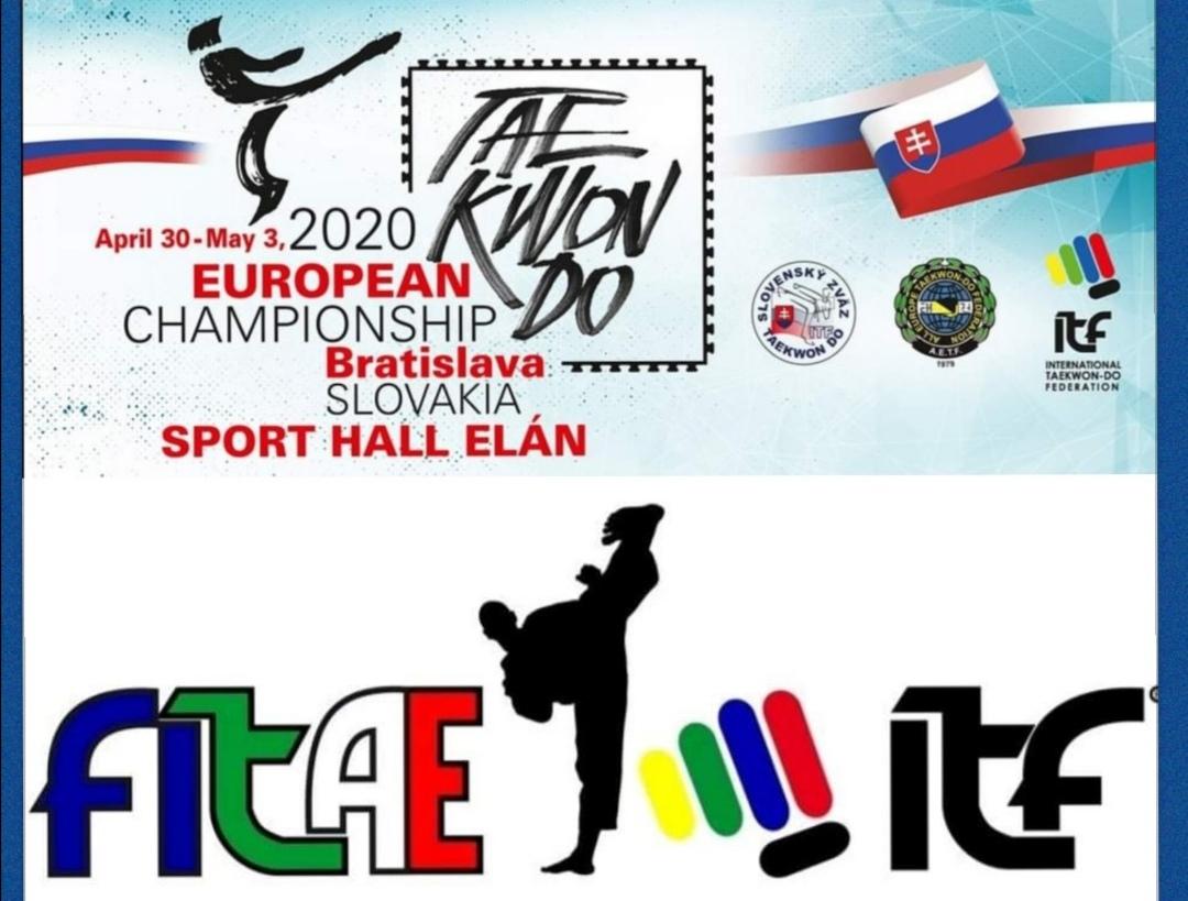 FITAE CANCELLA PARTECIPAZIONE<BR> AL CAMPIONATO EUROPEO<BR>  10/03/2020