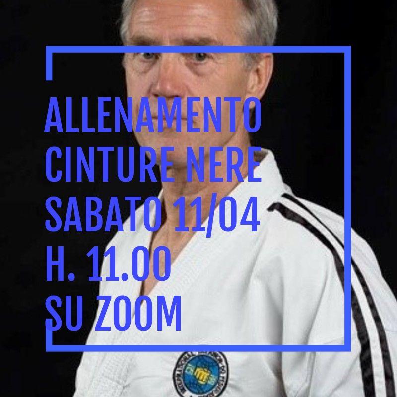 ALLENAMENTO ONLINE<BR> CON GM WIM BOS<BR> PIATTAFORMA ZOOM 11/04/2020