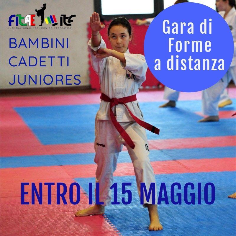 GARA DI FORME A DISTANZA<BR> DISTANTI MA UNITI<BR> 15/05/2020
