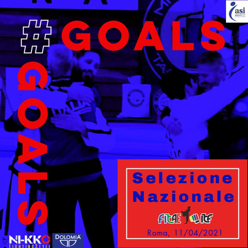 SELEZIONE SQUADRA NAZIONALE<BR> ROMA<br> 11/04/2021