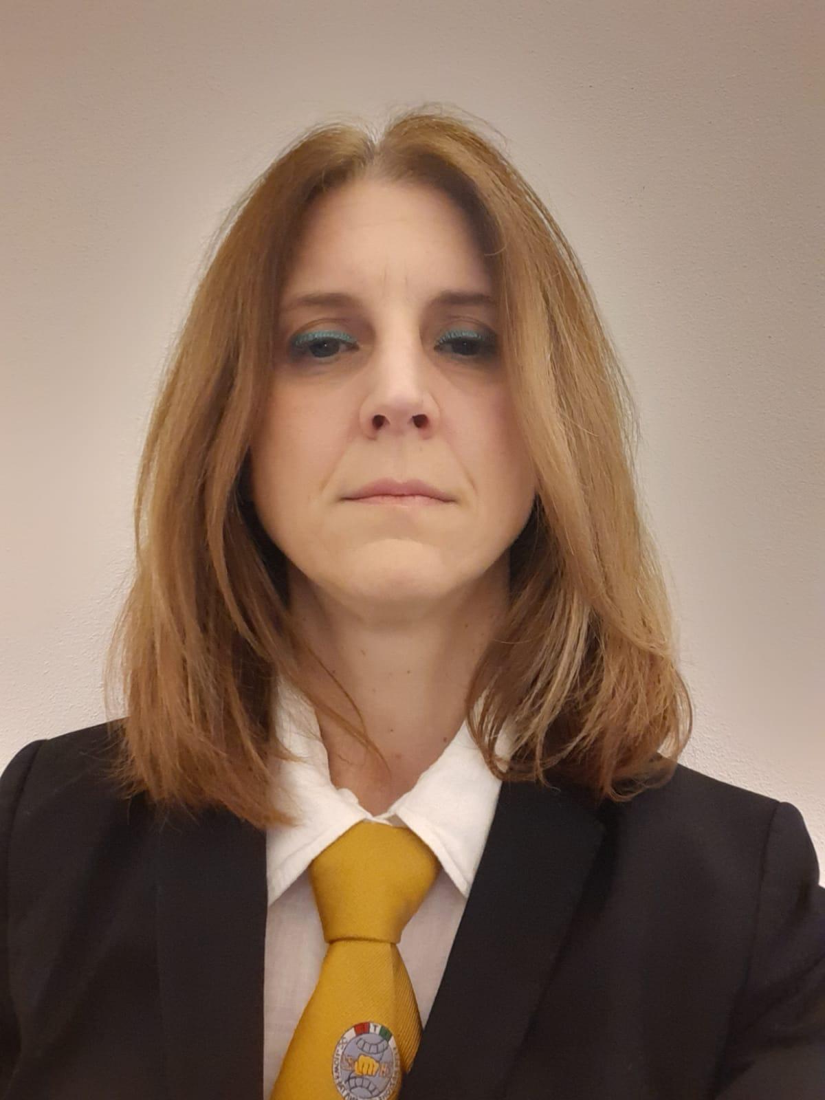 Master<br> <b>Rebecca Fogli</b><br>VII DAN