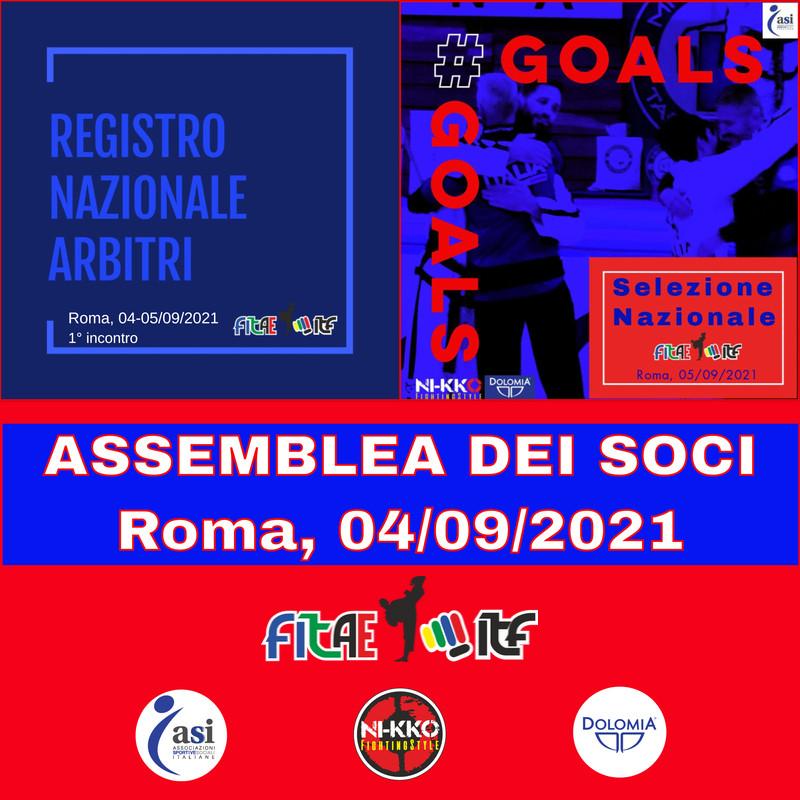 3 IN 1<br> BUONA LA PRIMA<BR> ROMA, 04-05/09/2021